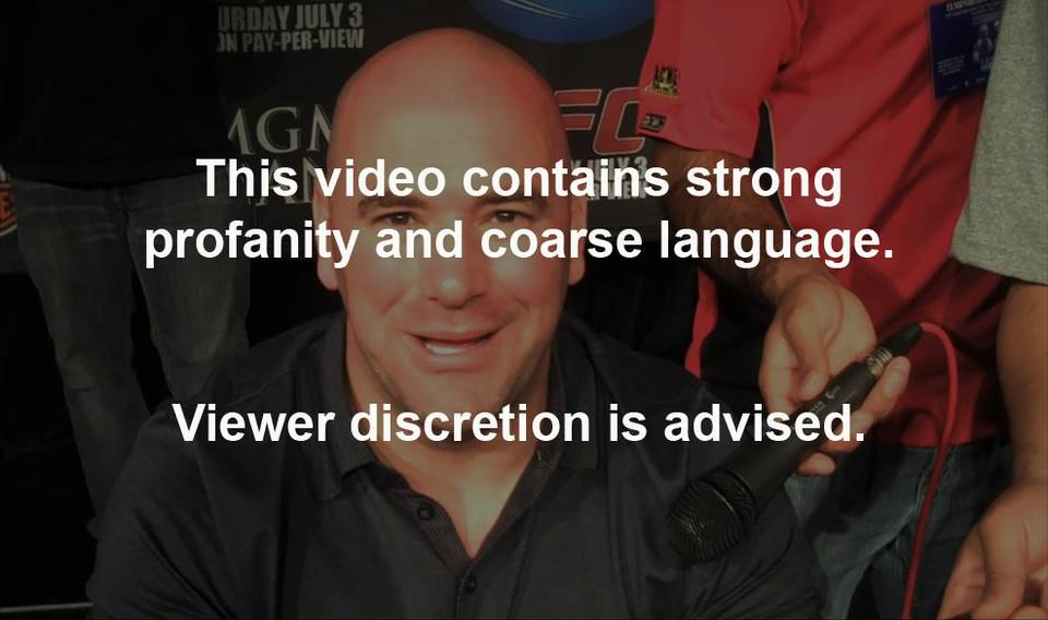 Fireside Chat with Dana White: UFC 116