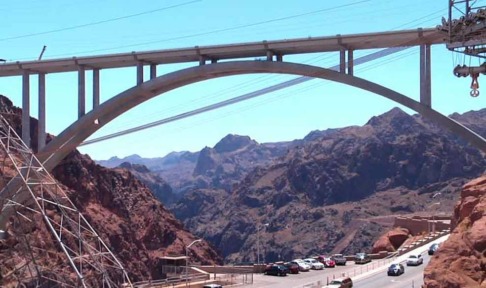 Dedication of Hoover Dam Bypass Bridge