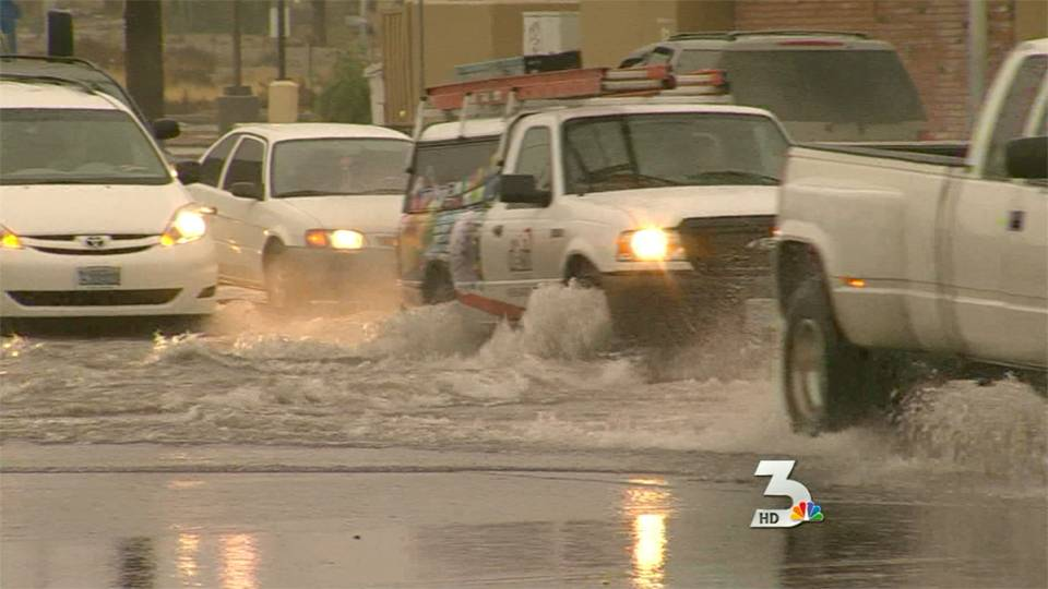 KSNV\'s coverage of the 2010 rainstorms