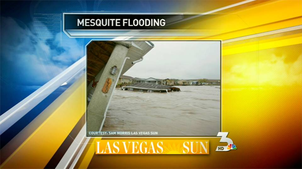 Sam Morris discusses Mesquite flooding