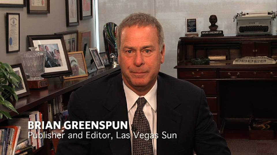 Do No Harm: Brian Greenspun