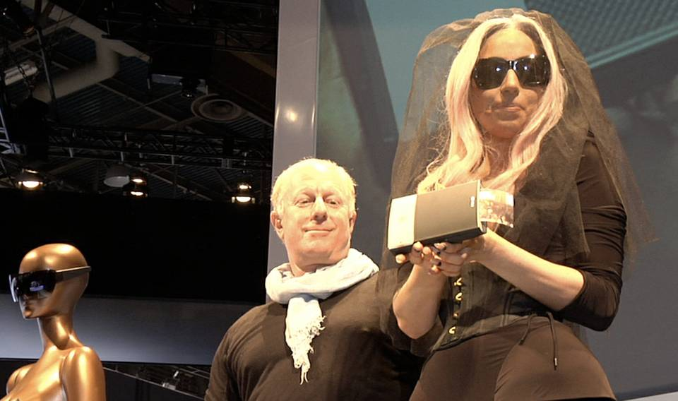 Lady Gaga Unveils Polaroid Grey at CES