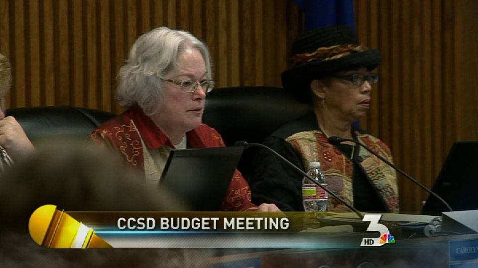 School budget meeting