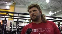 Roy Nelson and Frank Mir, who meet at UFC 130 Saturday at MGM Grand Garden Arena, reminisce on an eerie conversation they shared about the UFC heavyweight division in January.