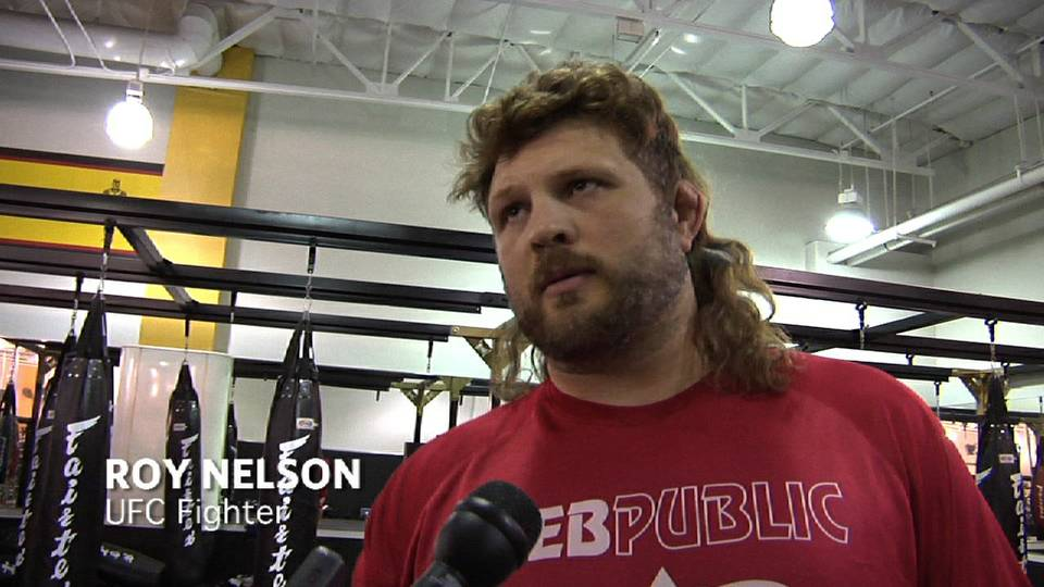 Roy Nelson\'s prediction comes true