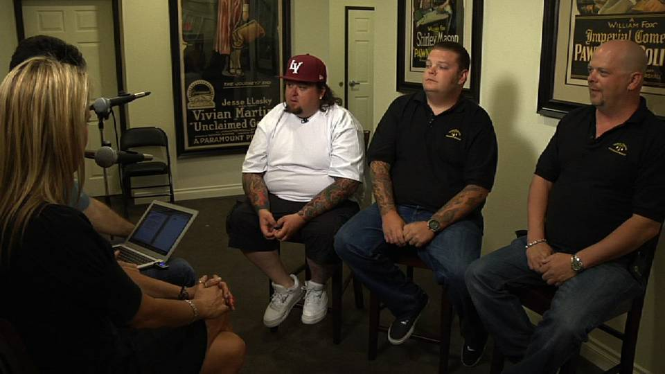 Pawn Stars join Kats With the Dish