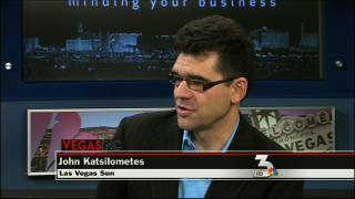 VEGAS INC: John Katsilometes discusses George Maloof