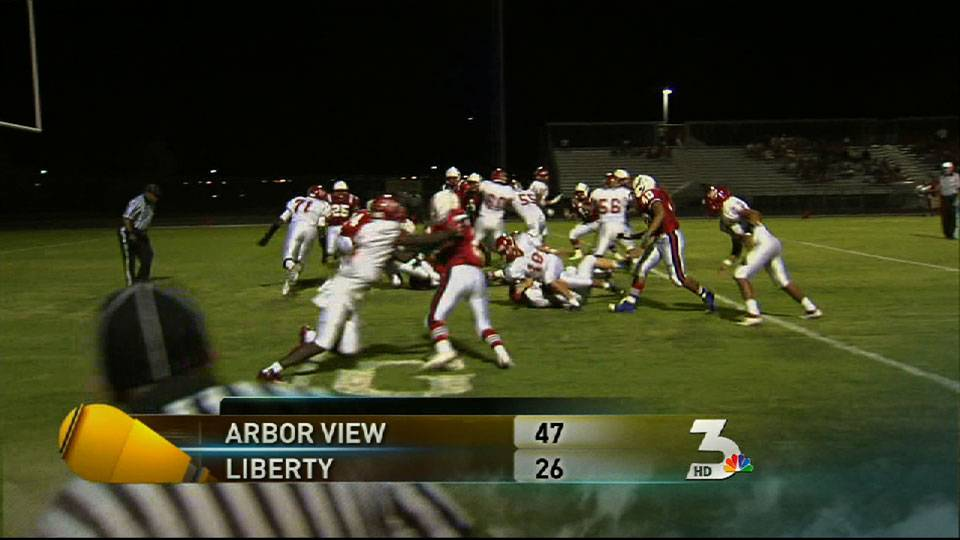 Arbor View tops Liberty, 47-26