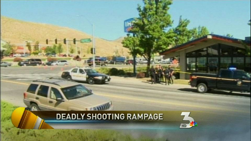 Shooting rampage in Carson City kills 4