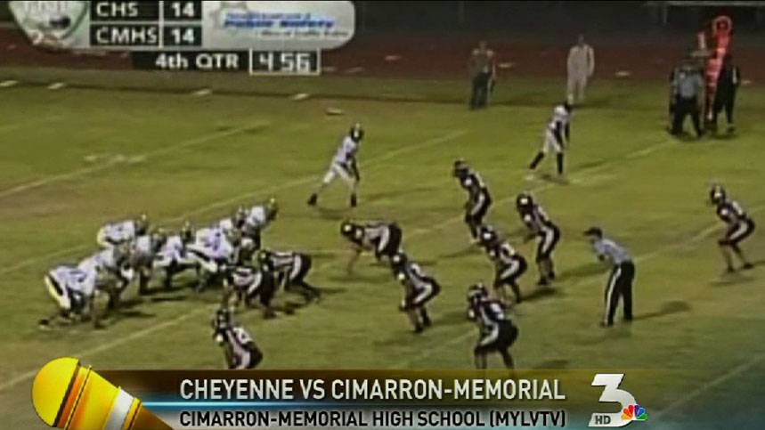 High school football: Cheyenne takes on Cimarron