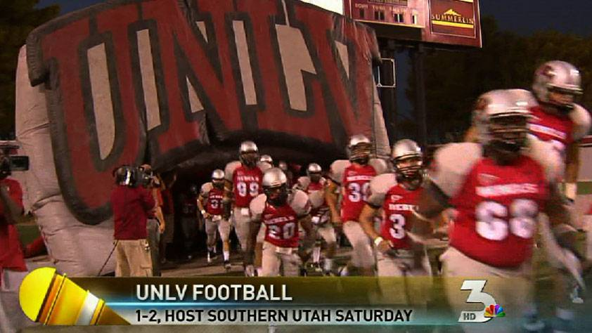 UNLV Rebels to face Southern Utah