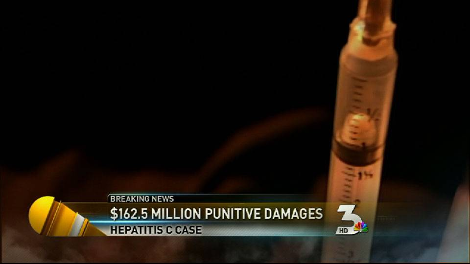 Drug firms told to pay $162 million in hepatitis C case