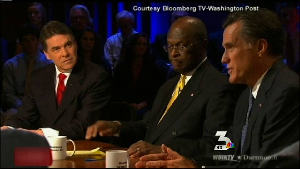 GOP presidential debate focuses on economy