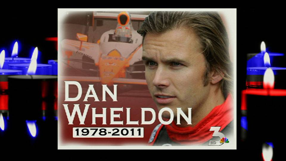 Indy champ Dan Wheldon dies in Vegas crash