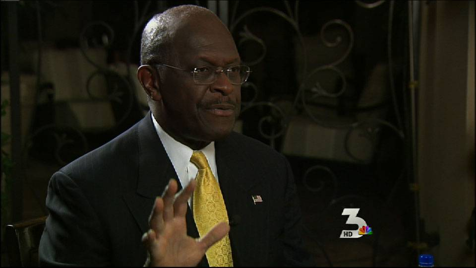 Herman Cain talks 9-9-9 tax plan