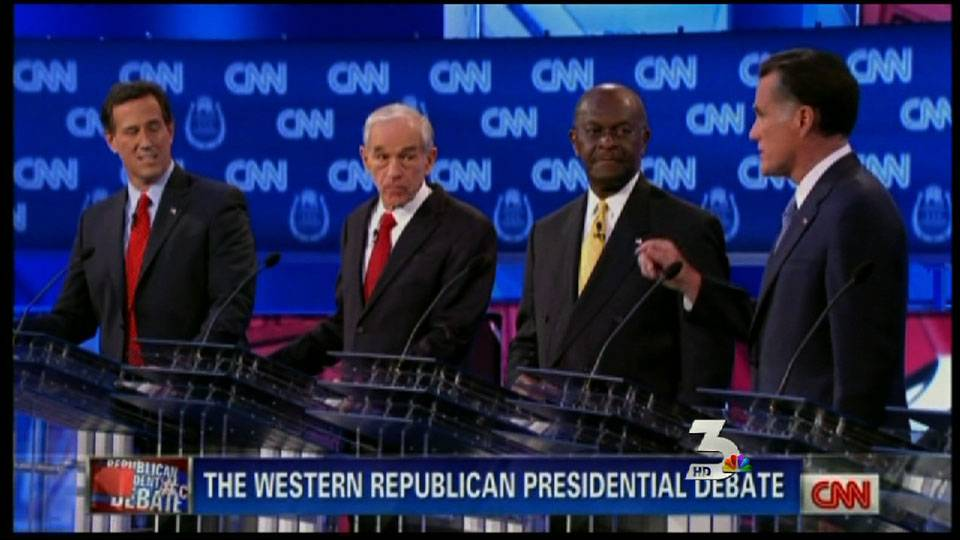 Candidates pick fights during GOP debate