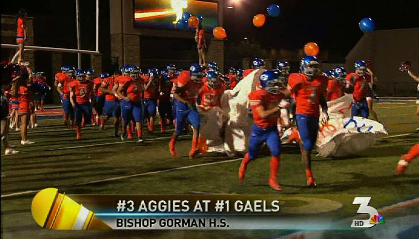 High school football: Bishop Gorman vs. Arbor View