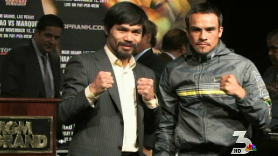 Pacquiao to fight Marquez Saturday