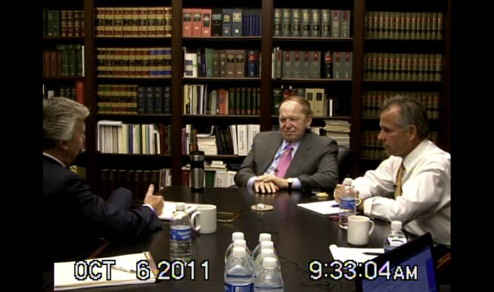 Adelson Oct. Deposition