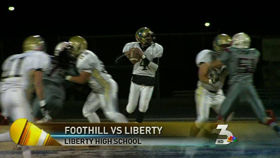 High school football: Foothill v. Liberty