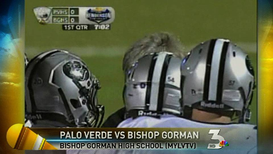 High school football: Palo Verde v. Bishop Gorman