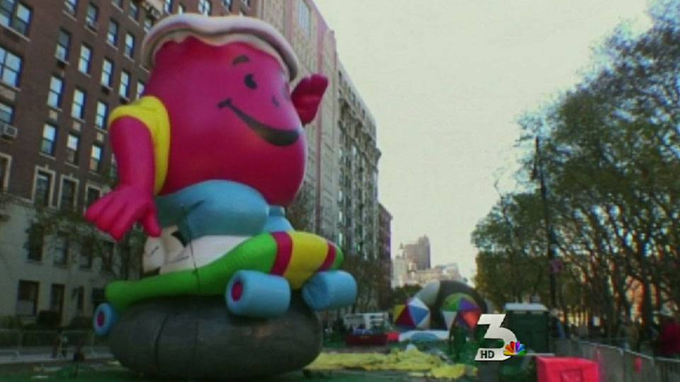 Wind could ground balloons at Macy\'sThanksgiving Day Parade