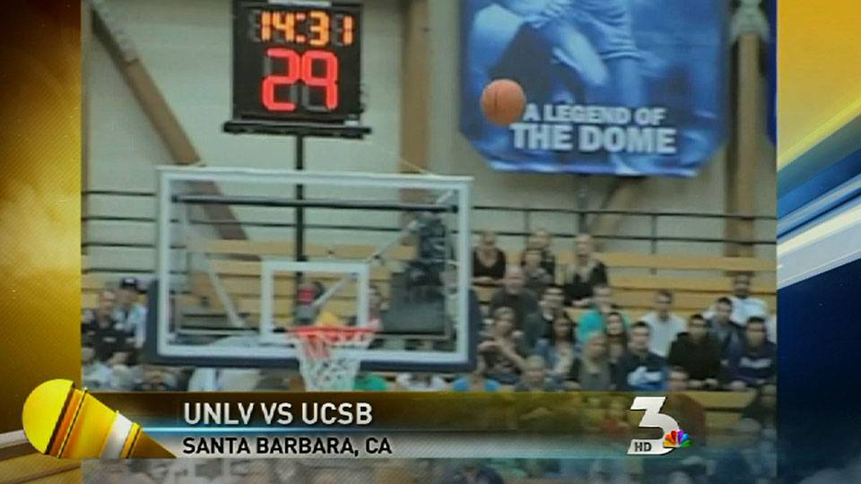 UNLV basketball takes on UC Santa Barbara