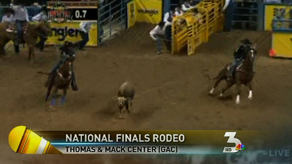 Cowboys team rope in NFR