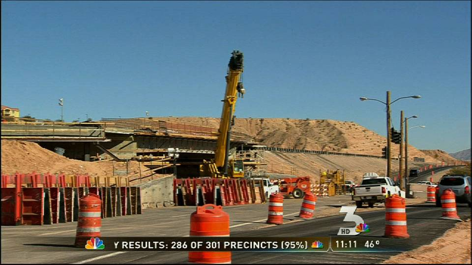New I-15 bridge slides into place