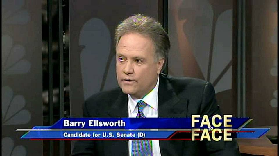 U.S. Senate Candidate Barry Ellsworth