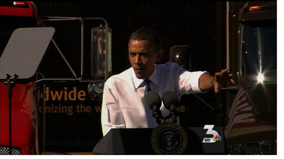 Obama talks energy at UPS