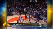 KSNV coverage of UNLV basketball games on the road, Jan. 30, 2012.