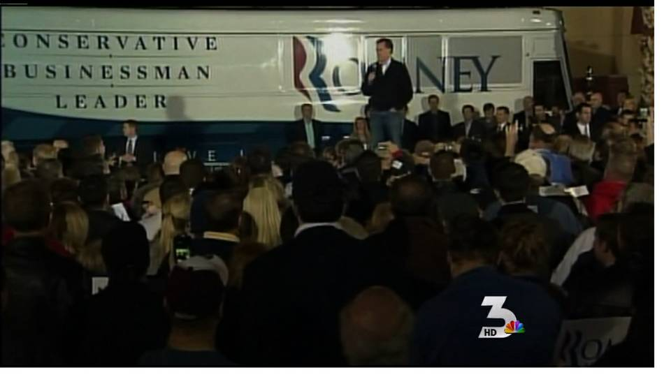 Romney campaigns in Henderson