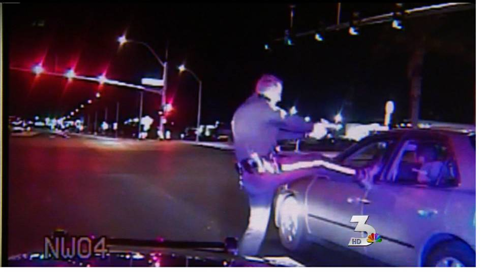 Man kicked during traffic stop speaks out