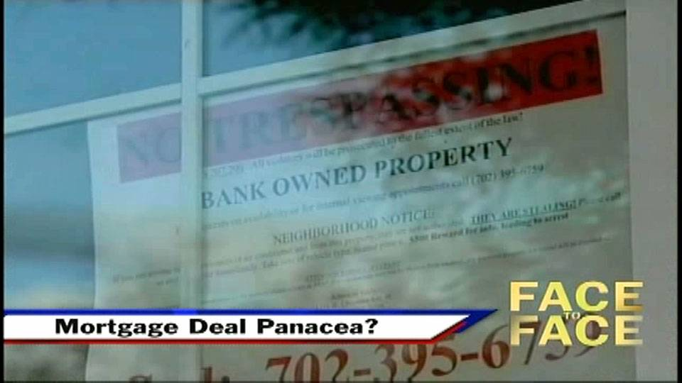 Mortgage Deal Panacea?