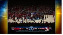 KSNV coverage of Rebels dealing with back-to-back losses, Feb. 20, 2012.
