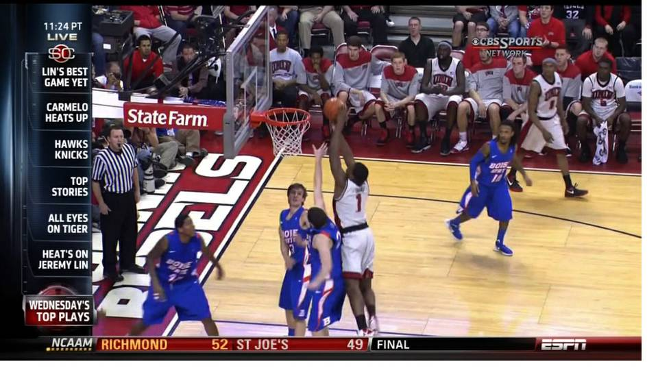 Rebel dunk makes SportsCenter top plays