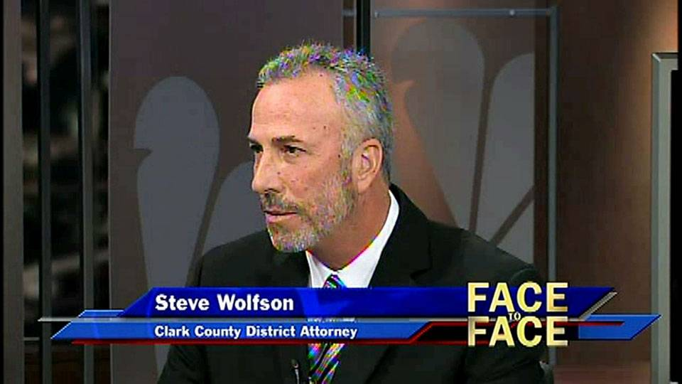 Clark County District Attorney Steve Wolfson