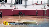 KSNV coverage of UNLV Rebels gearing up for the NCAA Tournament. March 7, 2012.