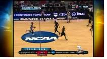 KSNV coverage of UNLV taking on Colorado in New Mexico during the NCAA Tournament, March 15, 2012.