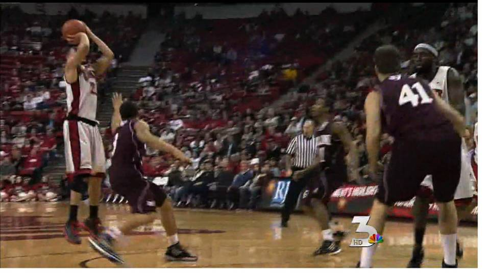 UNLV player invited to Final Four contest