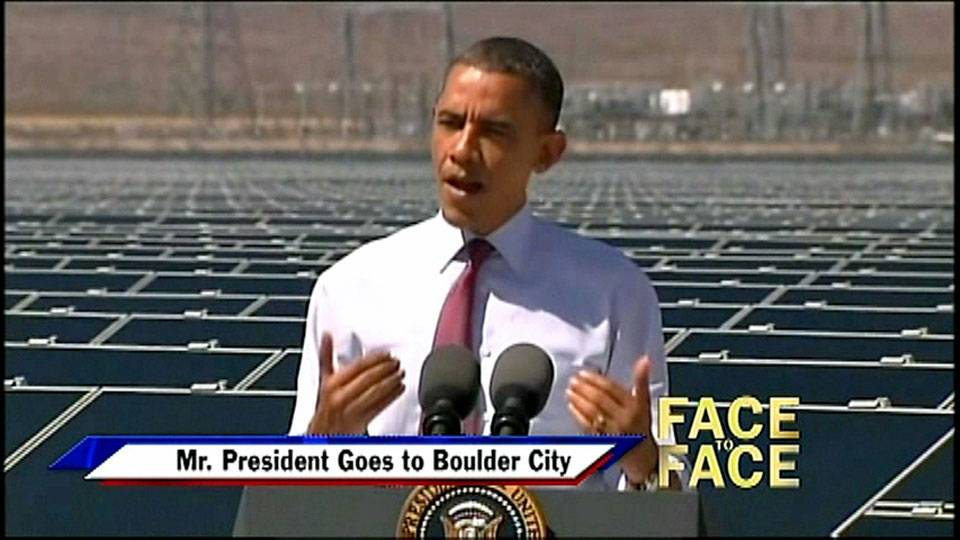 Mr. President Goes to Boulder City