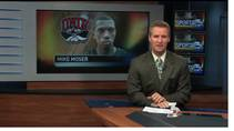 KSNV coverage of UNLV basketball player Mike Moser's NBA chances, March 22, 2012.