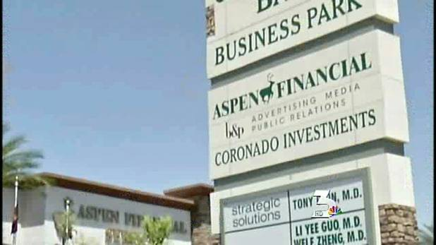 VEGAS INC: Aspen Financial