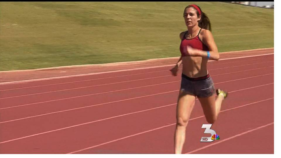 Las Vegas runners work to qualify for 2012 Olympics