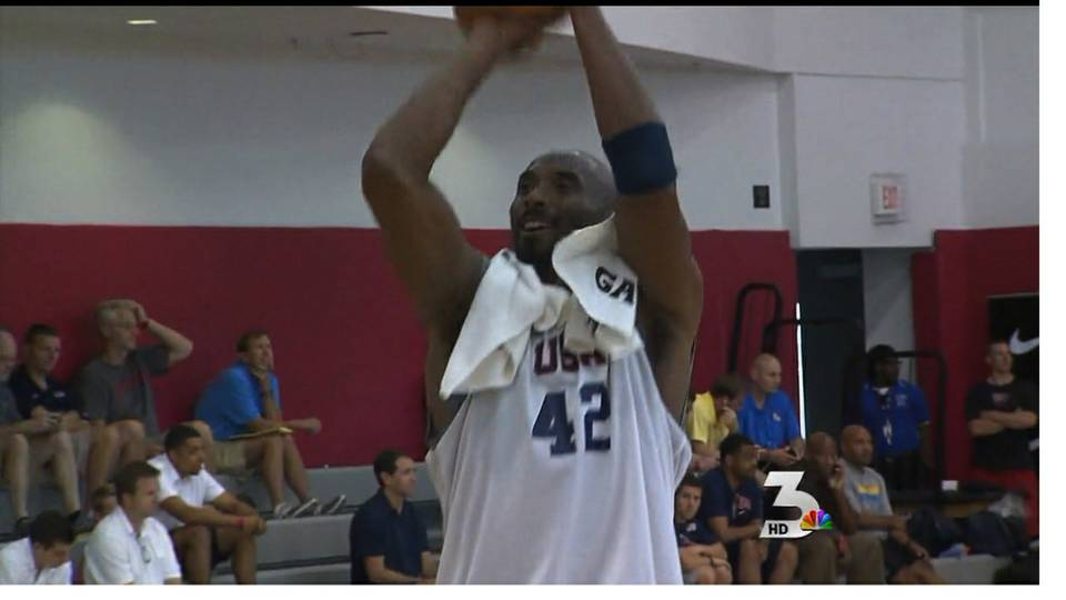 Team USA basketball players arrive in Las Vegas