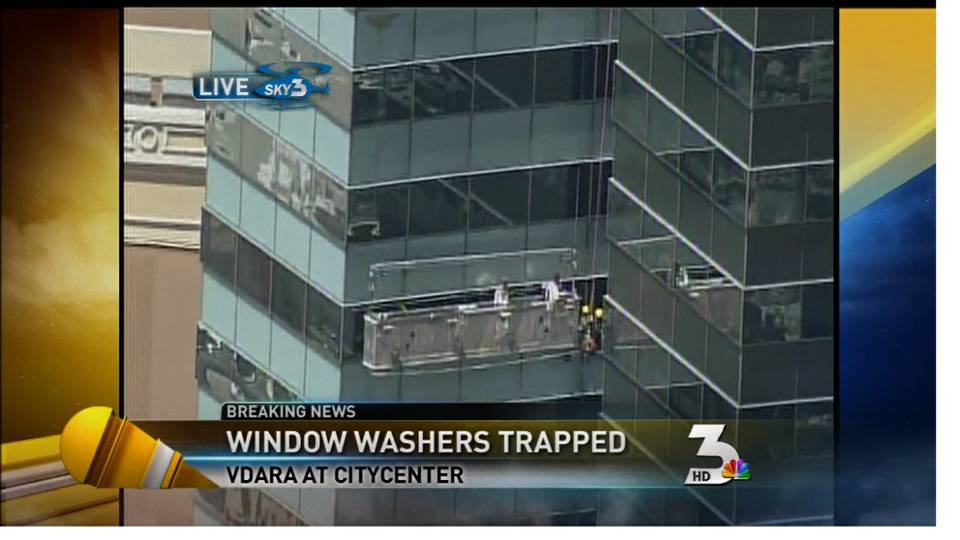 Window washer rescue