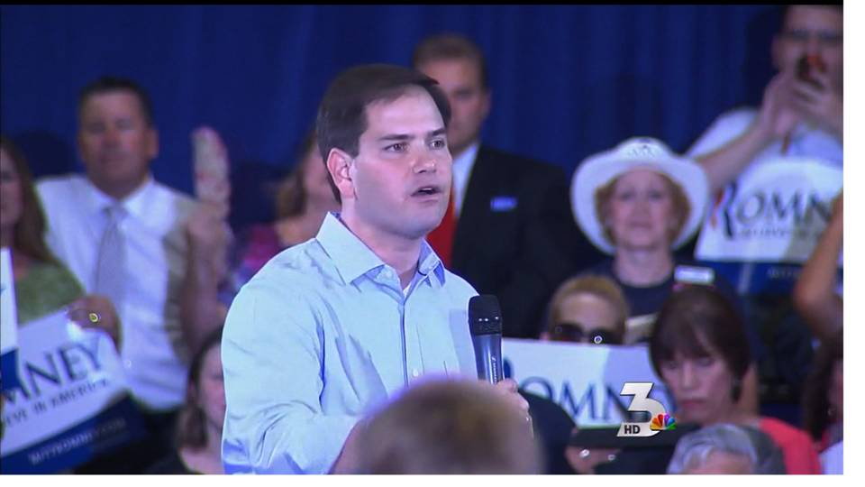 Rubio speaks in Las Vegas