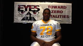 Junior OT Tyrell Crosby