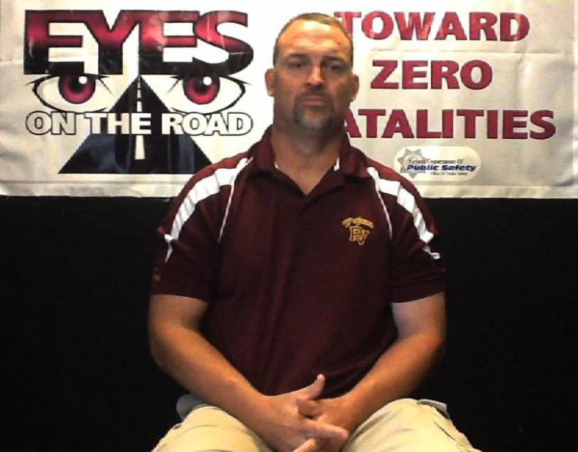 Pahrump Valley Coach Joe Clayton
